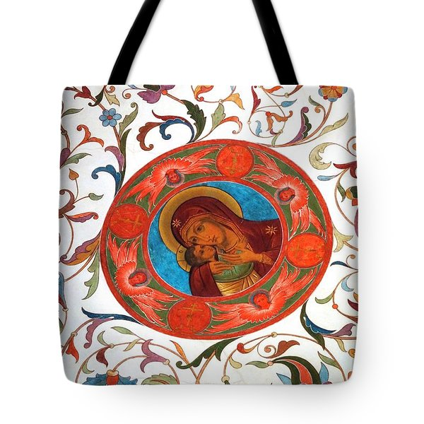 Madonna Tote Bag by Julia Ivanovna Willhite