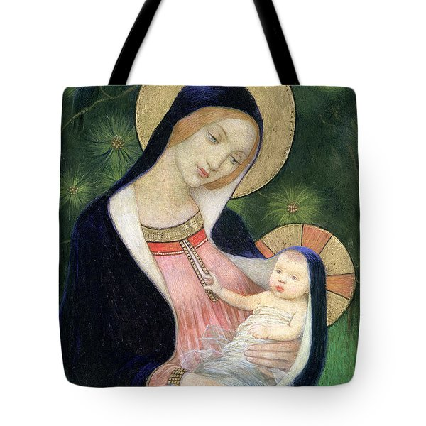 Madonna Of The Fir Tree Tote Bag