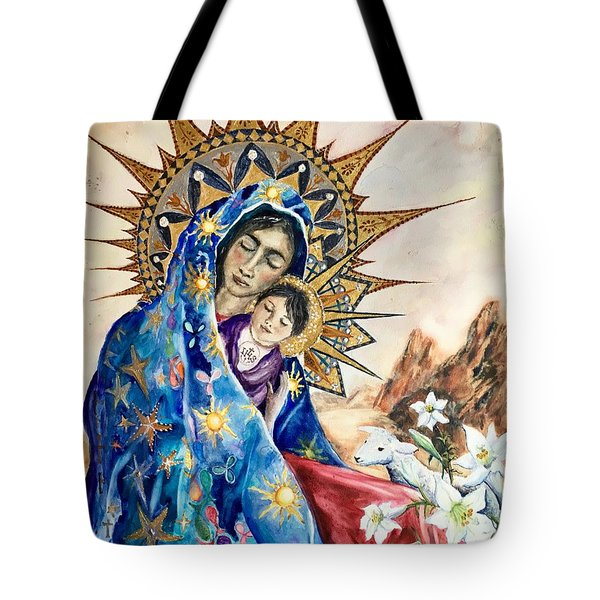 Madonna Of The Unescorted  Tote Bag