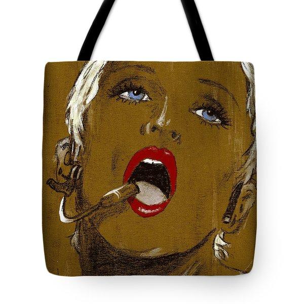 Madonna Tote Bag by P J Lewis