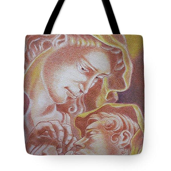 Madre Y El Nino Tote Bag