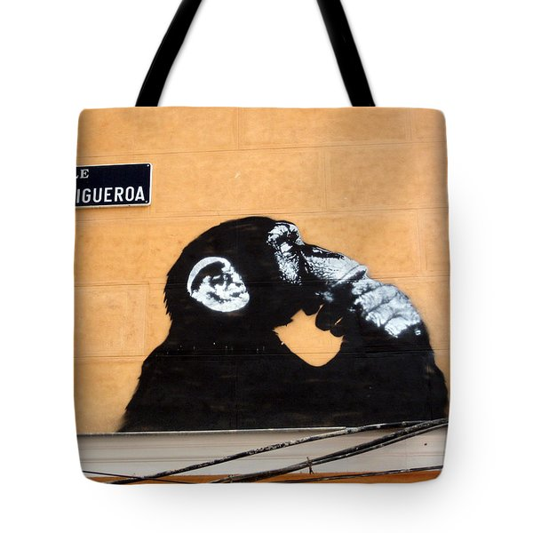 Madrid, Spain Tote Bag by Gerry Schneider