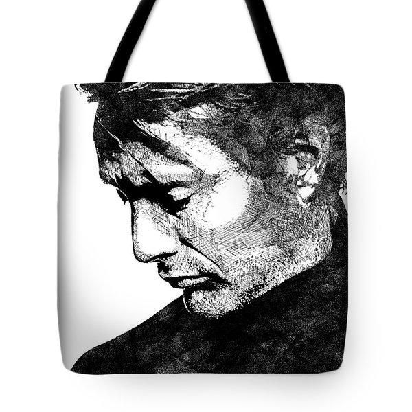 Mads Mikkelsen Tote Bag by Mihaela Pater