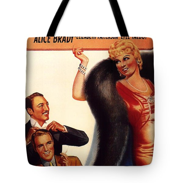 Mae West In Go West Young Man 1936 Tote Bag