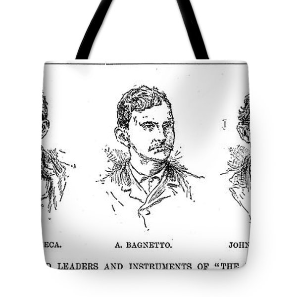 Mafia Leaders, C1890 Tote Bag by Granger