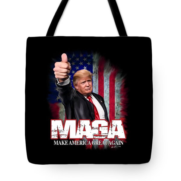 Tote Bag featuring the photograph Maga by Don Olea