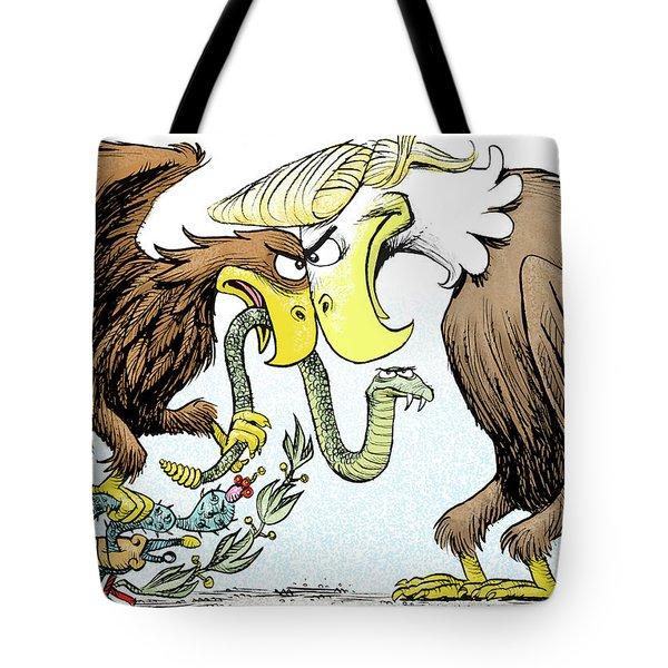 Maga Vs Mexico Tote Bag