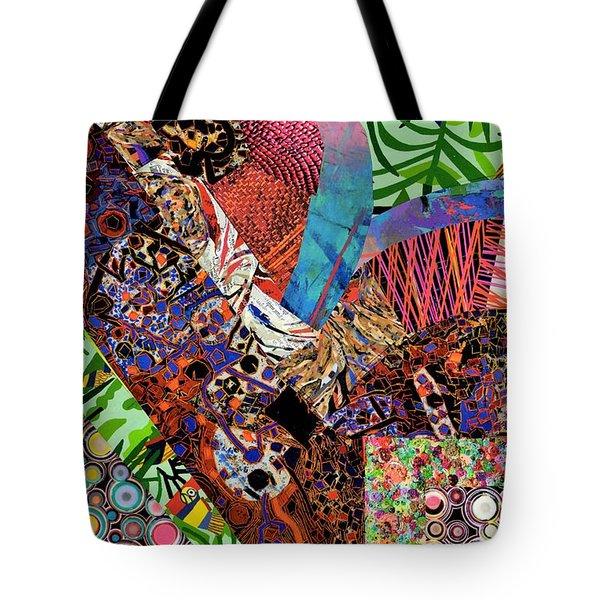 Magazine Art Tote Bag
