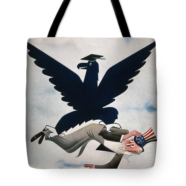 Magazine: New Deal, 1934 Tote Bag by Granger