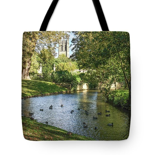 Magdalen From The River Cherwell Tote Bag