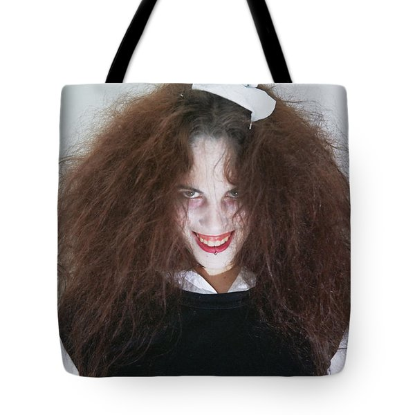 Magenta During A Rhps Performance Tote Bag