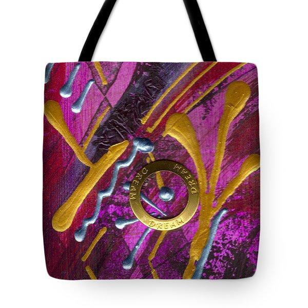 Magenta Joy Dreams Tote Bag by Angela L Walker