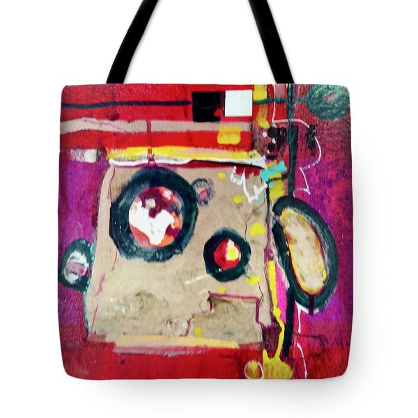 Magenta Minute Tote Bag