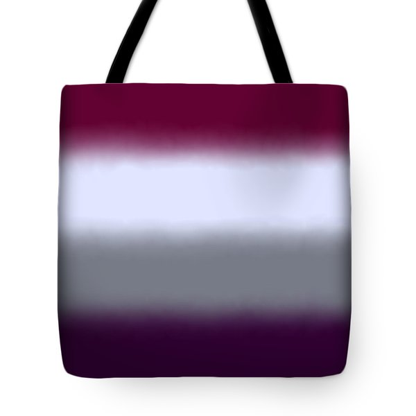 Magenta Purple - Sq Block Tote Bag