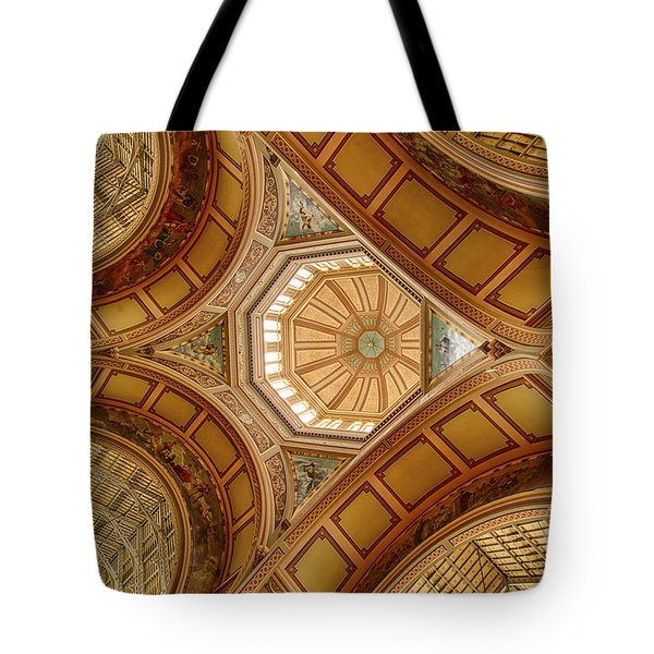 Magestic Architecture Tote Bag