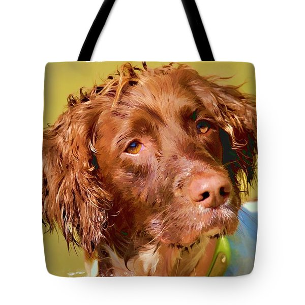Tote Bag featuring the photograph Maggie 2  by Constantine Gregory