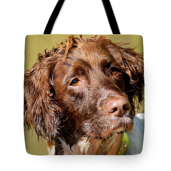 Tote Bag featuring the photograph Maggie Head by Constantine Gregory
