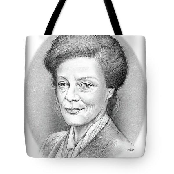 Maggie Smith Tote Bag