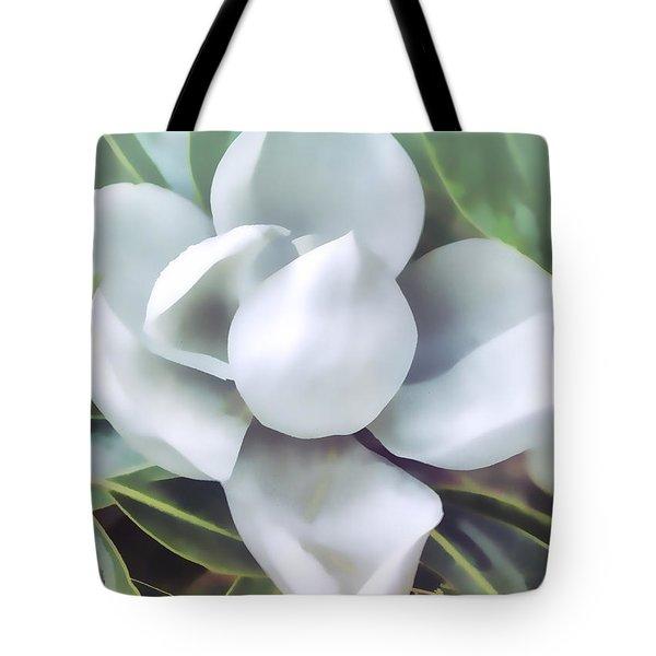 Magnolia Opening 2 Tote Bag