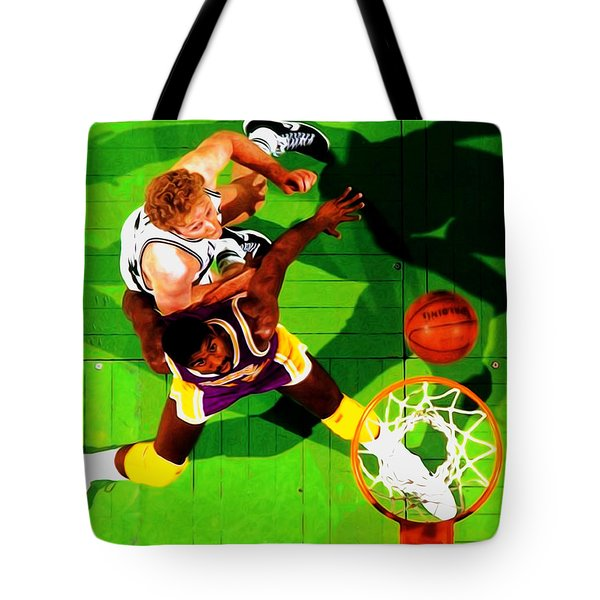 Magic And Bird Tote Bag by Brian Reaves