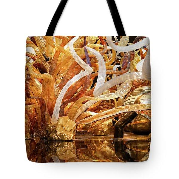 Magic Art In Glass Tote Bag