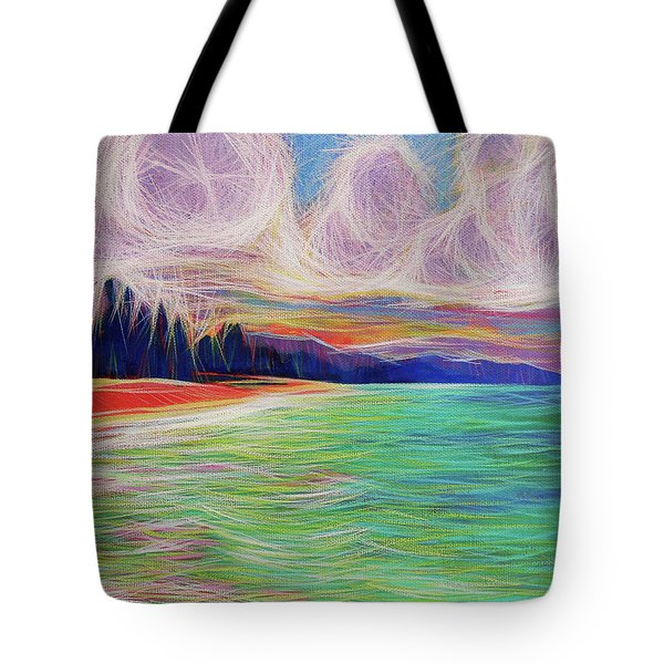 Magic Beach Tote Bag