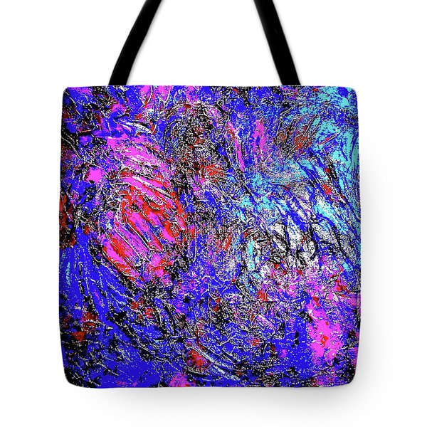 Magic Blue Tote Bag