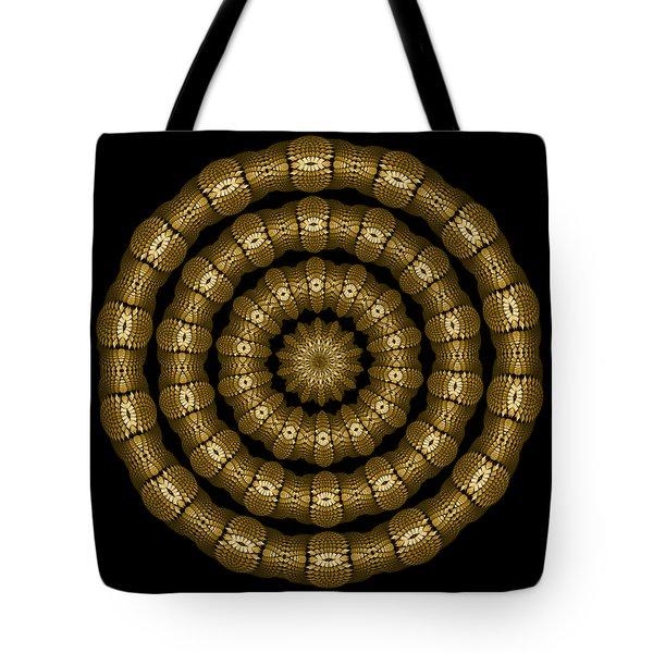 Magic Brass Rings Tote Bag