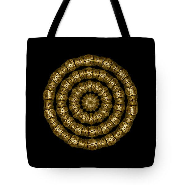 Magic Brass Rings Tote Bag