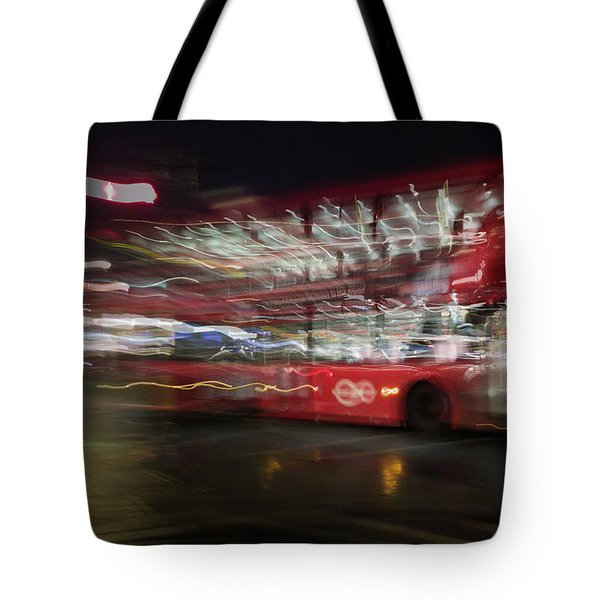 Tote Bag featuring the photograph Magic Bus by Alex Lapidus