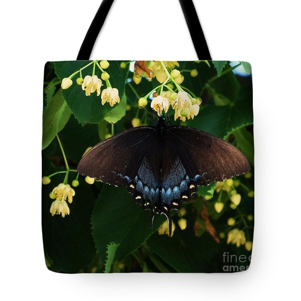 Magic Butterfly Tote Bag by J L Zarek