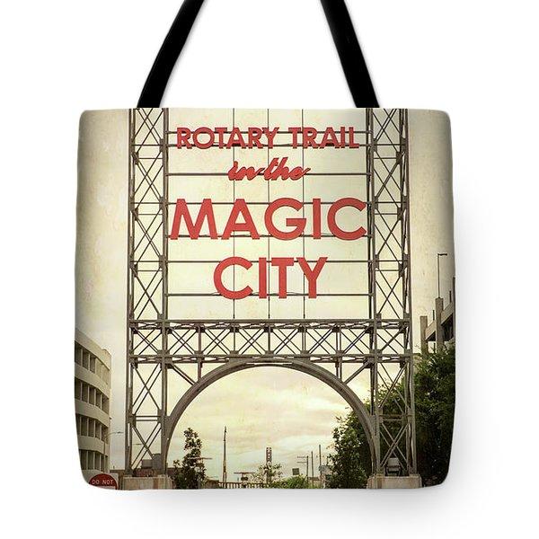 Magic City Rotary Trail - #1 Tote Bag