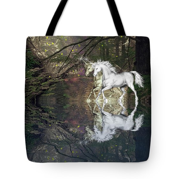 Tote Bag featuring the photograph Magic by Diane Schuster