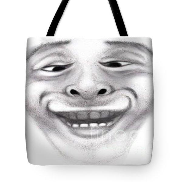 Magic Face Tote Bag