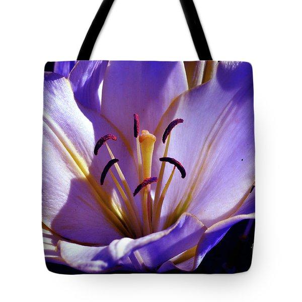 Magic Floral Poetry Tote Bag