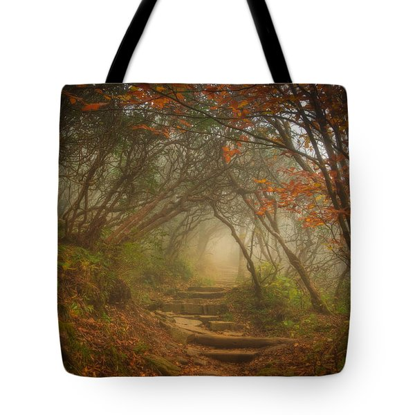 Tote Bag featuring the photograph Magic Forest by Joye Ardyn Durham