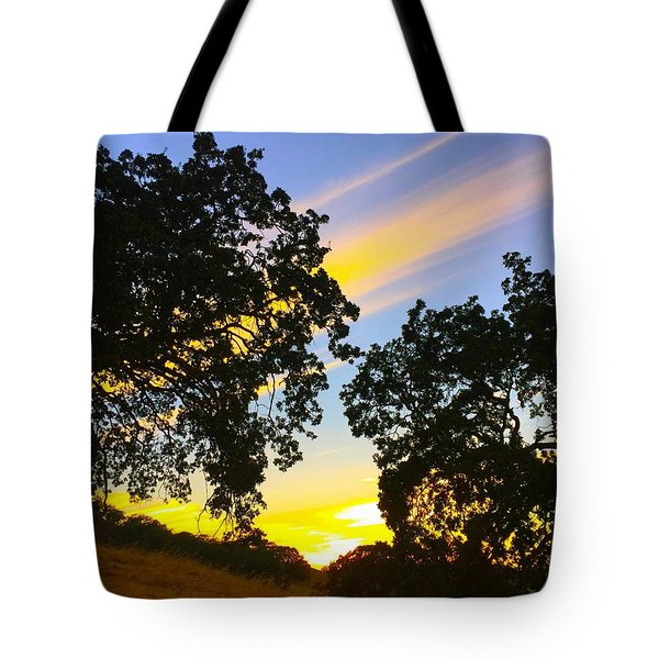 Magic Hour Sunset Tote Bag