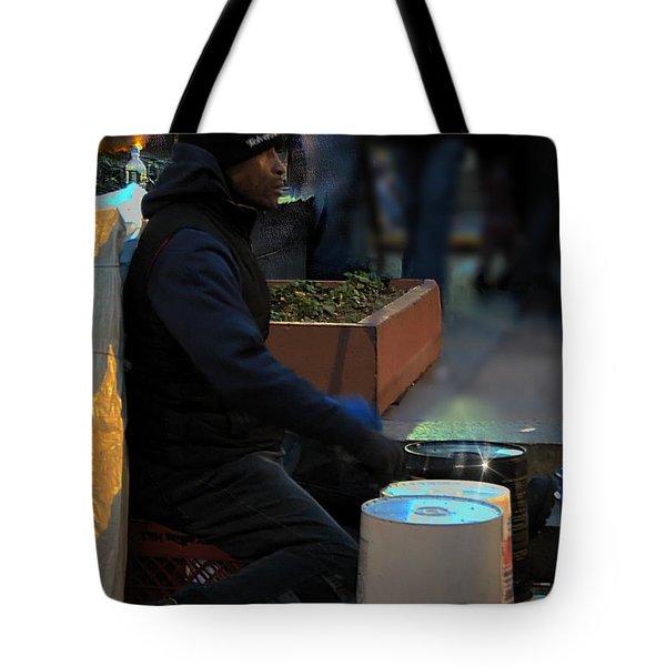 Magic In Love Park Tote Bag