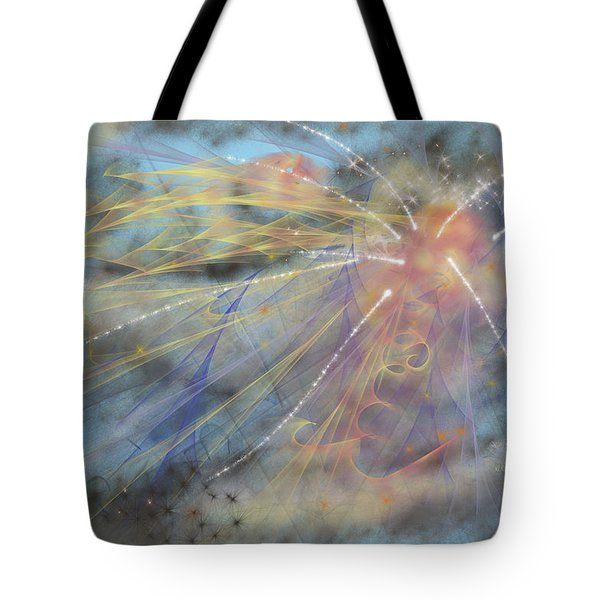 Magic In The Skies Tote Bag by Angela A Stanton