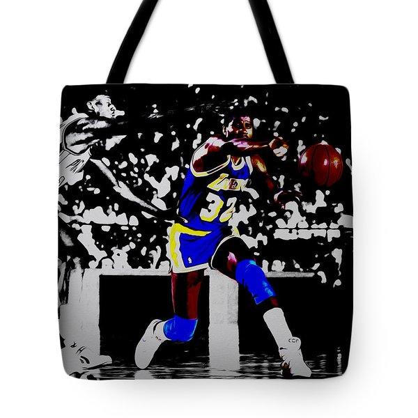 Magic Johnson Bounce Pass Tote Bag