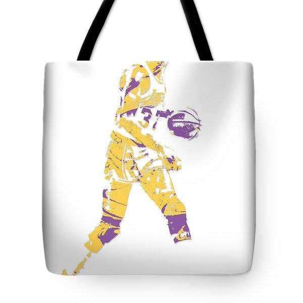 Magic Johnson Los Angeles Lakers Pixel Art 5 Tote Bag