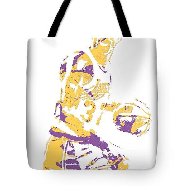 Magic Johnson Los Angeles Lakers Pixel Art 6 Tote Bag