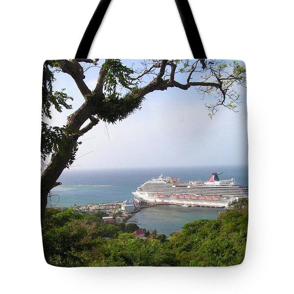Magic Landscape Tote Bag