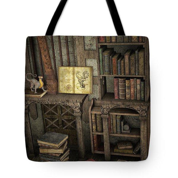 Magic Literature Tote Bag
