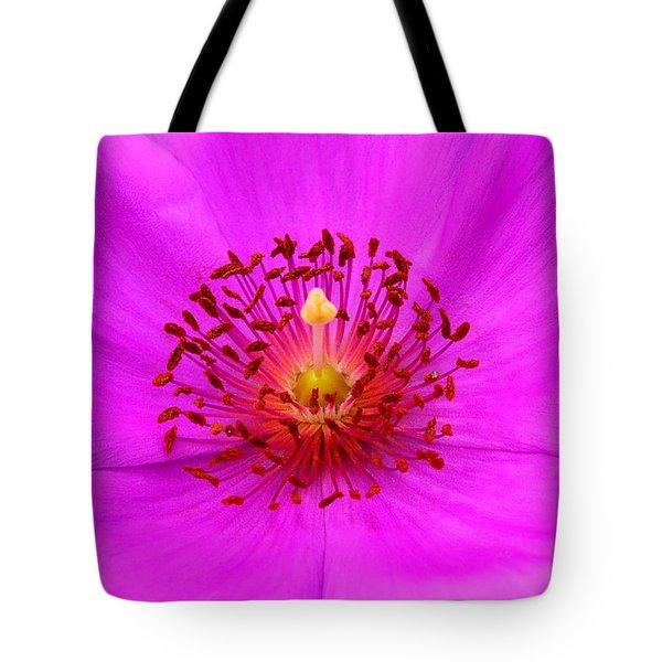 Magic Magenta - Calandrinia Tote Bag