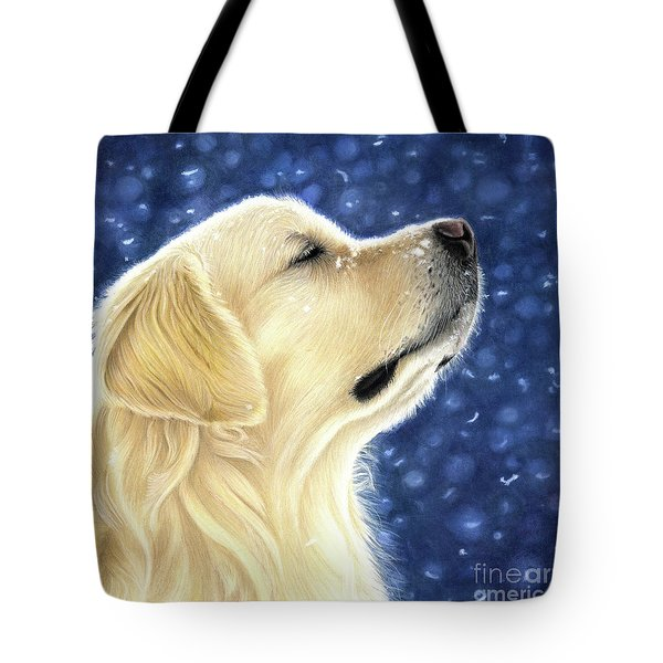 Tote Bag featuring the mixed media Magic Moment by Donna Mulley