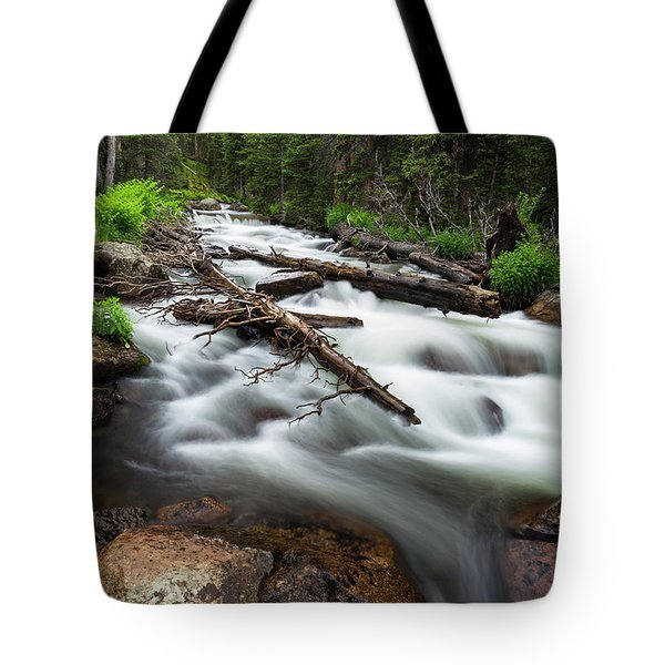 Tote Bag featuring the photograph Magic Mountain Stream by James BO Insogna