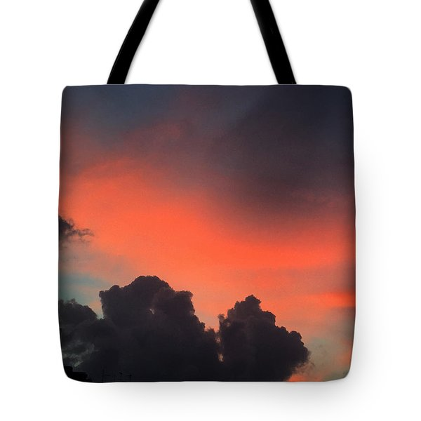 Late Day On Paros Island  Tote Bag