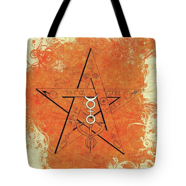 Magic, Occult, Mystic, Symbolism Tote Bag