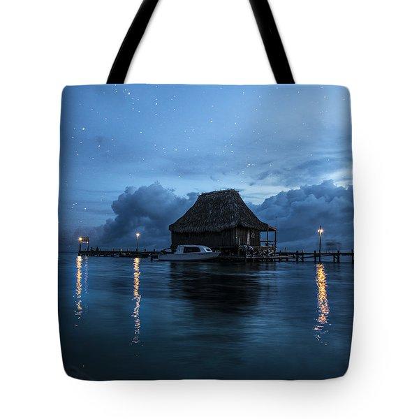 Magic Of A Night Tote Bag by Yuri Santin